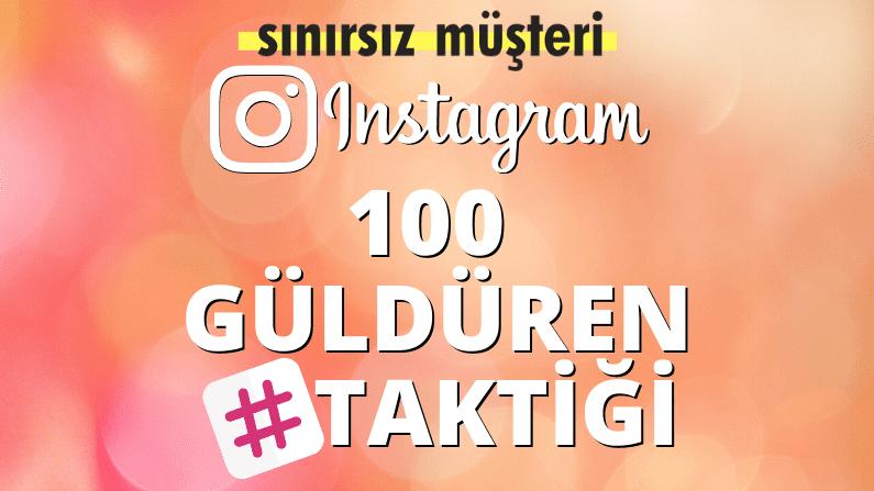 instagram hashtag taktiği